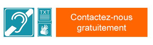 Baisse d'audition ? Malentendant ? Sourd ? Contactez nous gratuitement, toutes nos agences et nos services sont maintenant accessibles !